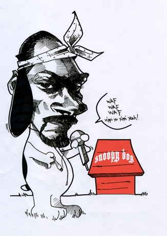 Snoop Dogg by guillaume